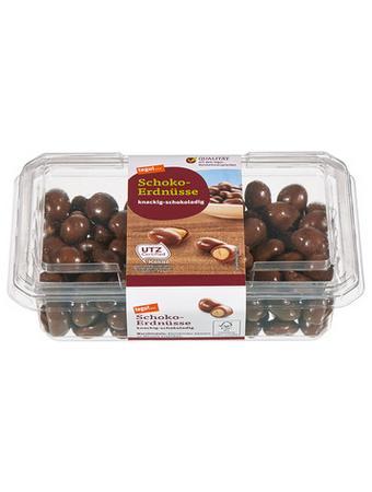 Darstellung von Schoko-Erdnüsse