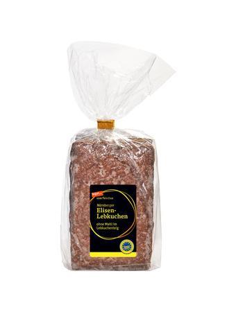 Darstellung von Nürnberger Elisenlebkuchen ohne Mehl im Lebkuchenteig