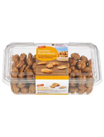 Darstellung von Jumbo-Erdnüsse