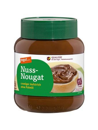 Darstellung von Nuss-Nougat-Creme