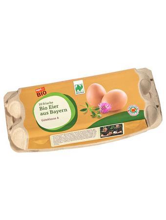 Darstellung von 10 Bio Eier aus Bayern