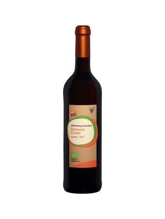 Darstellung von Rotwein Cuvée 2017