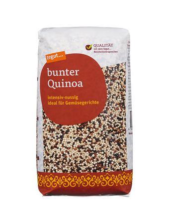 Darstellung von bunter Quinoa