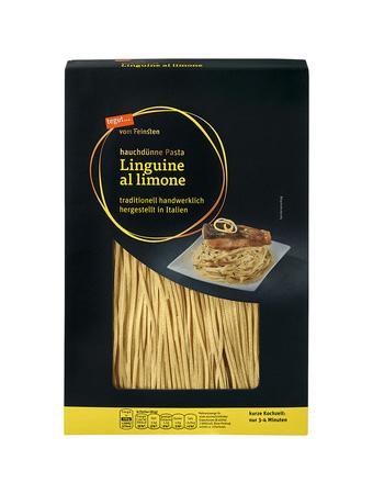 Darstellung von Linguine al limone