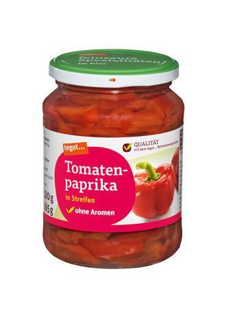 Darstellung von Tomatenpaprika