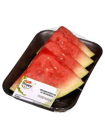 Darstellung von Wassermelone in Scheiben