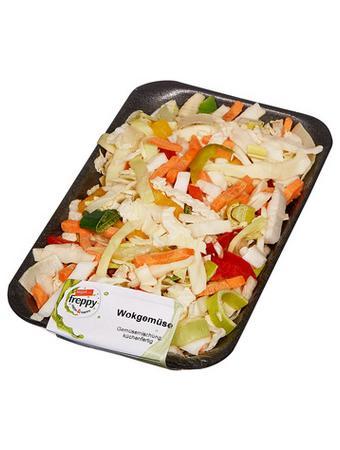 Darstellung von Wokgemüse