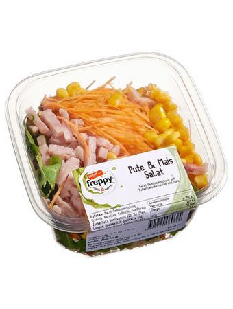 Darstellung von Pute & Mais Salat