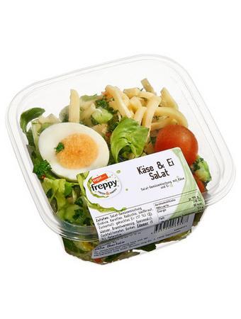 Darstellung von Käse & Ei Salat