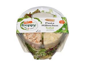Darstellung von Pasta Hähnchen Salat