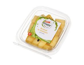 Darstellung von Ananas in Stücken
