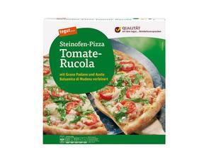 Darstellung von Steinofen-Pizza Tomate-Rucola