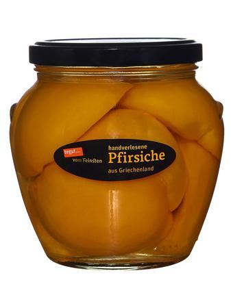 Darstellung von handverlesene Pfirsiche