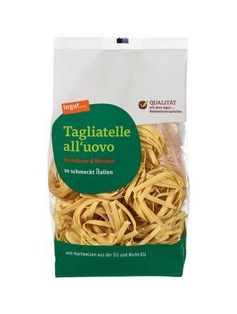 Darstellung von Tagliatelle all'uovo