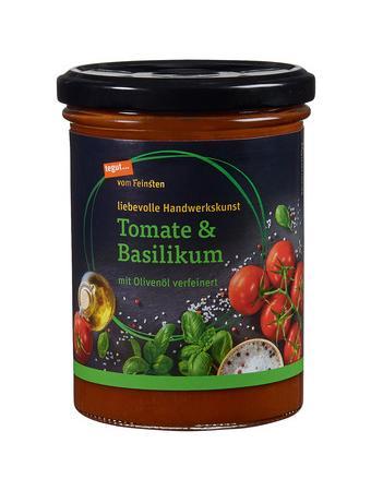 Darstellung von Suppe Tomate & Basilikum