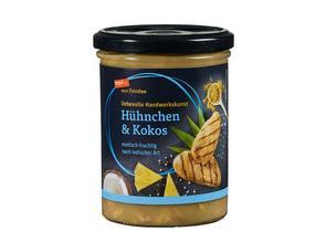 Darstellung von Suppe Hühnchen & Kokos