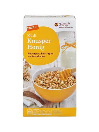 Darstellung von Müsli Knusper-Honig
