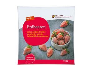 Darstellung von Erdbeeren