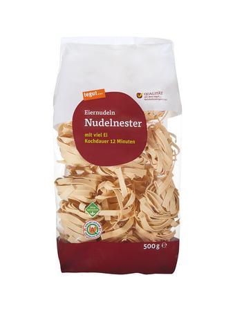 Darstellung von Nudelnester
