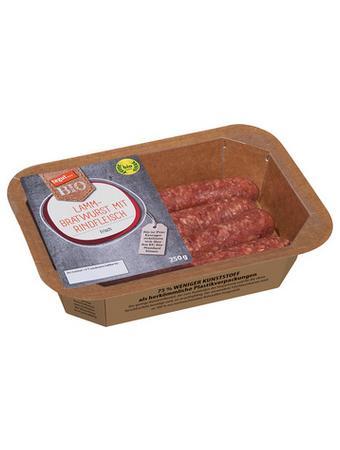 Darstellung von SB Atmos Bio Lamm-Bratwurst mit Rindfleisch, frisch