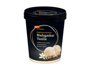 Darstellung von Madagaskar Vanille Eiscreme