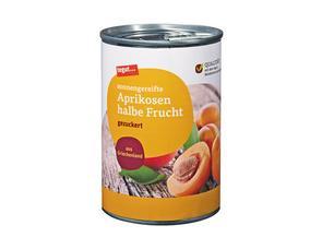 Darstellung von Aprikosen halbe Frucht 425 ml