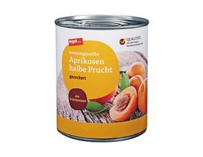 Darstellung von Aprikosen halbe Frucht 850 ml