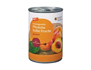 Darstellung von Pfirsiche halbe Frucht 425 ml