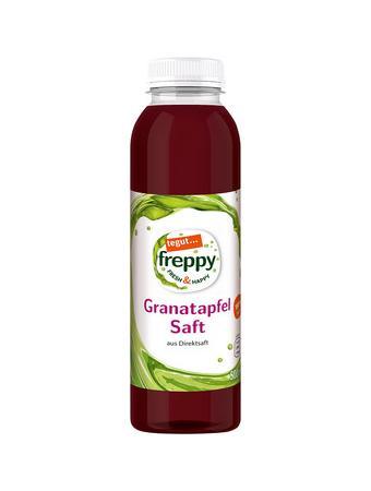 Darstellung von Granatapfelsaft