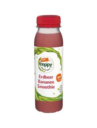 Darstellung von Erdbeer Bananen Smoothie
