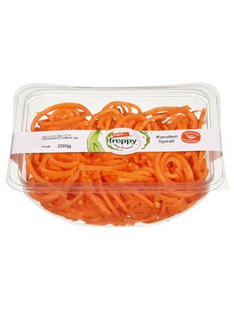 Darstellung von Karotten Spirali