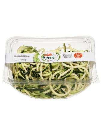 Darstellung von Zucchini Spirali