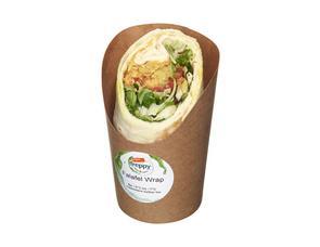 Darstellung von Falafel Wrap