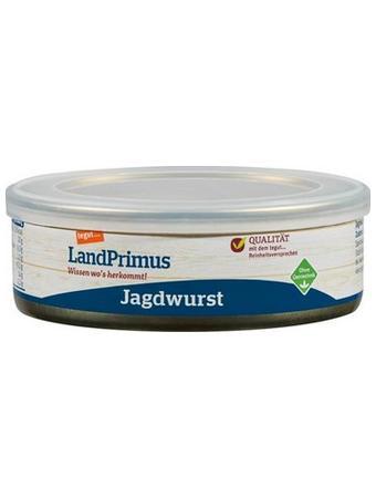 Darstellung von LandPrimus Dose Jagdwurst