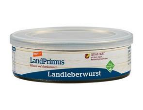 Darstellung von Dose Landleberwurst