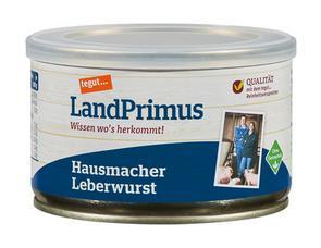 Darstellung von Dose Hausmacher Leberwurst
