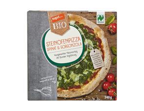 Darstellung von Steinofenpizza Spinat & Gorgonzola