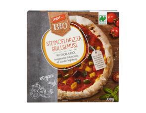 Darstellung von Steinofenpizza Grillgemüse
