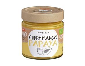 Darstellung von Aufstrich Curry Mango Papaya
