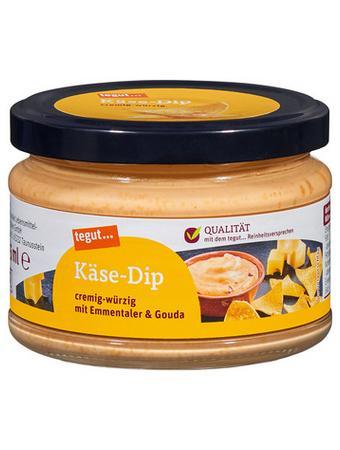 Darstellung von Käse-Dip
