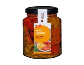 Darstellung von gegrillte Paprika