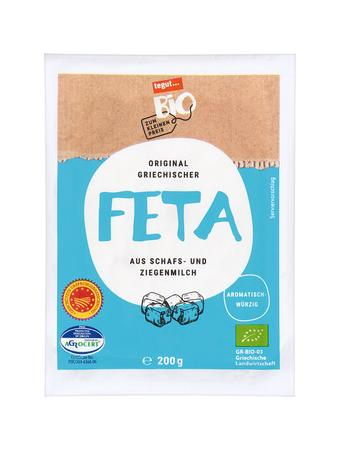 Darstellung von original griechischer Feta