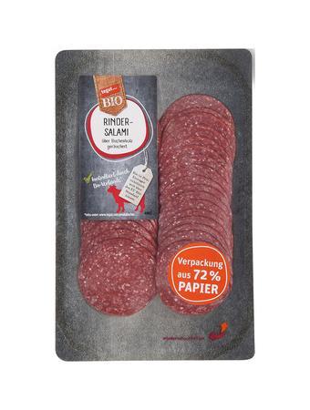 Darstellung von Frischepack Rinder-Salami
