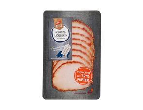 Darstellung von Frischepack Schweinelachs-Braten mit Paprikarand
