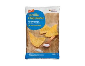 Darstellung von Tortilla Chips Natur