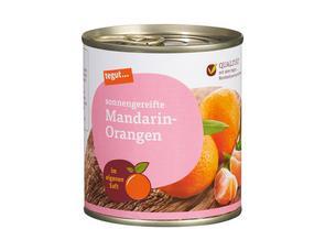 Darstellung von Mandarin-Orangen im eigenen Saft