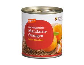 Darstellung von Mandarin-Orangen