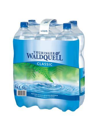 Darstellung von Thüringer Waldquell Mineralwasser classic 6er-Pack