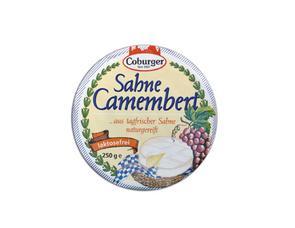 Darstellung von Sahne Camembert