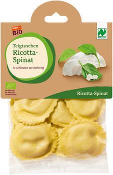 Teigtaschen Ricotta-Spinat